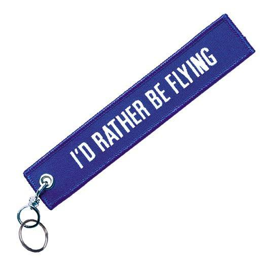 Keychain I'd rather be flying
