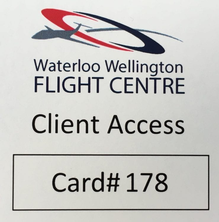 Client Access Card
