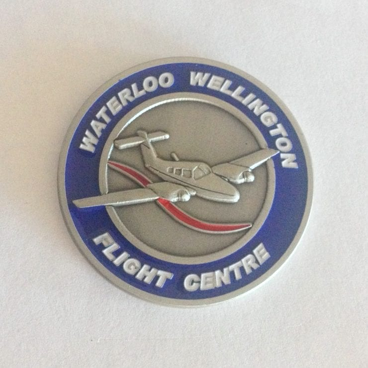 WWFC coin back