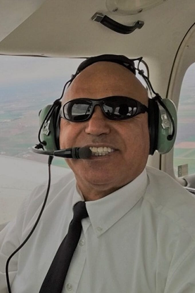 Akbar Bashiri, Flight Instructor