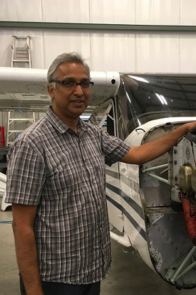Ravi Seecharran, Aircraft Maintenance Engineer