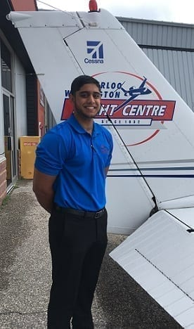 Rayman Singh, Flight Instructor