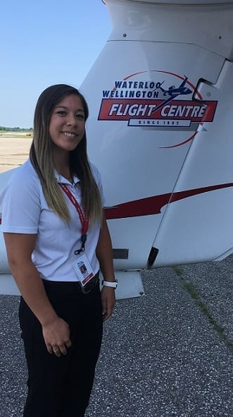 Natalie Smith, Flight Instructor