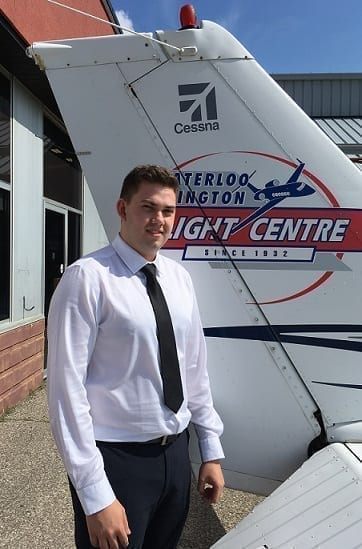 Lucas Malchesky, Flight Instructor