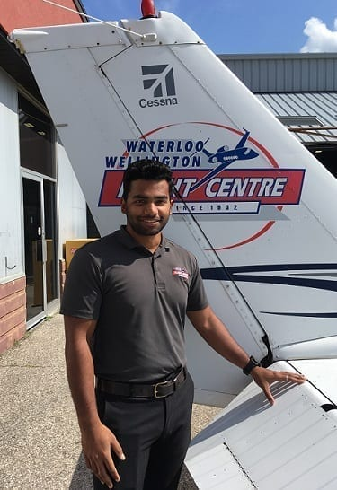 Ashwin Rajan, Flight Instructor