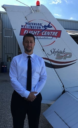 Mark Heinzlreiter, Flight Instructor