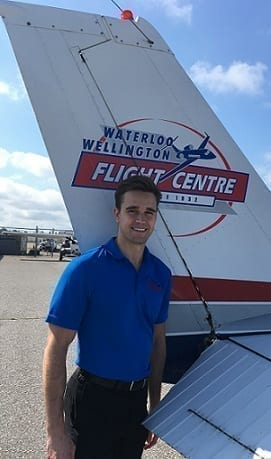 Chris Norris, Flight Instructor