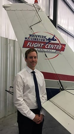 Stu Miller, Flight Instructor