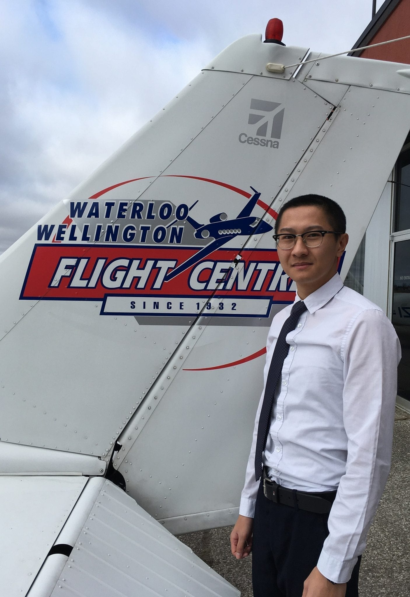 Wilfred Tong, Flight Instructor
