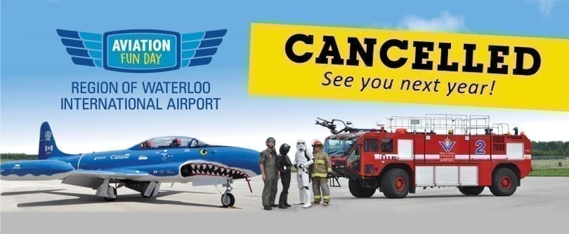 Aviation Fun Day Cancelled