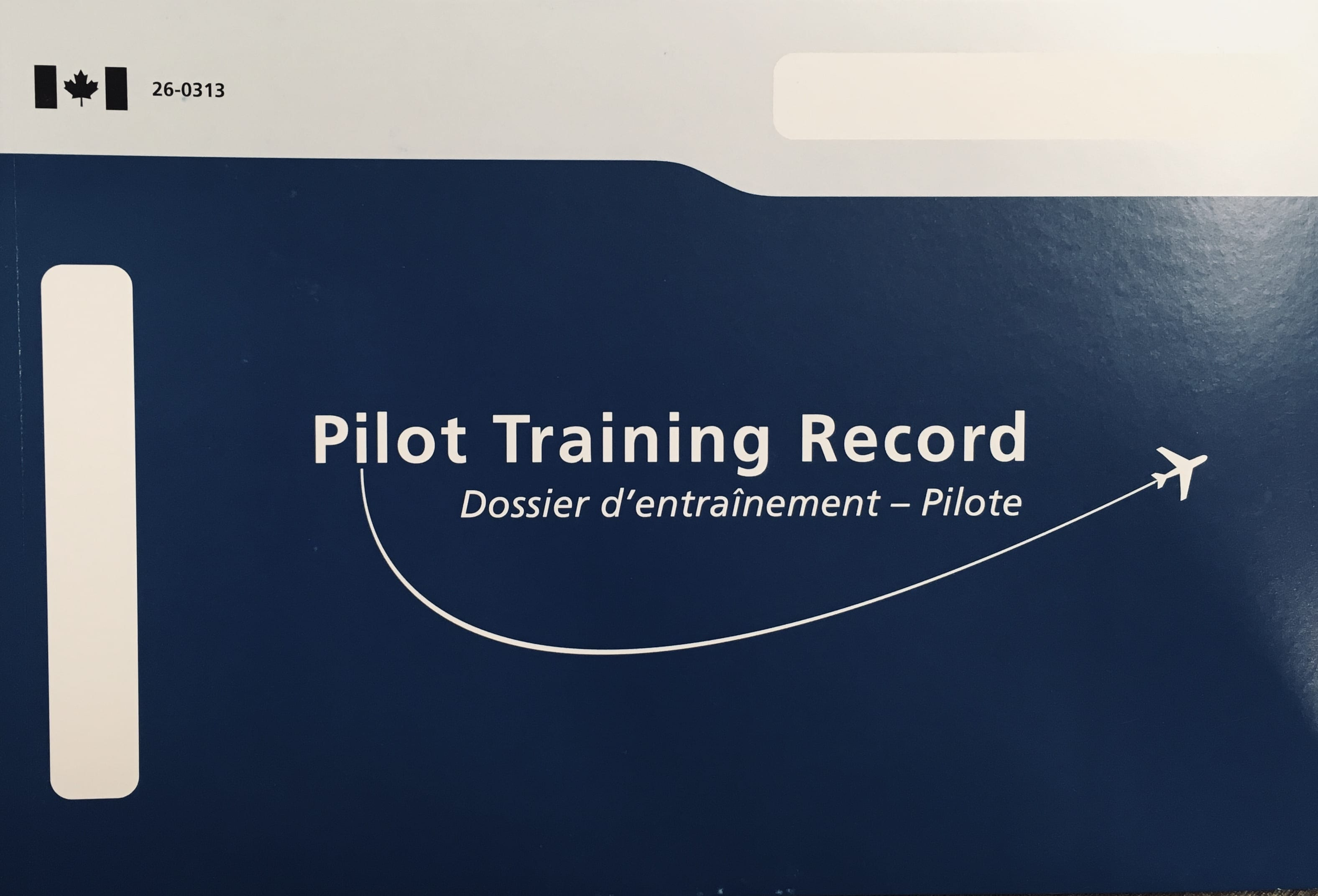 Pilot Training Record Book