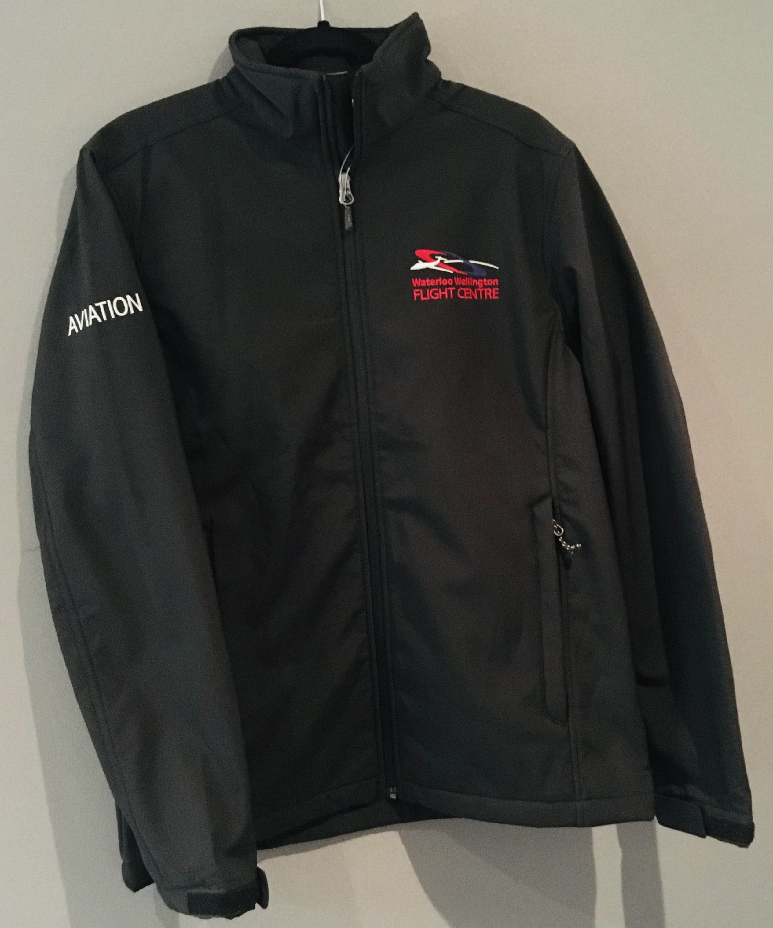 WWFC Black Softshell Jacket