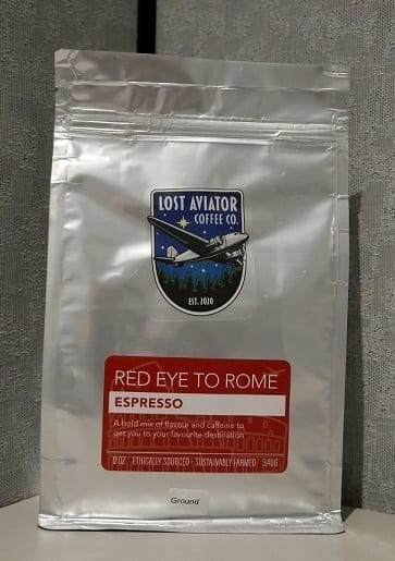 Lost Aviator Red Eye to Rome Espresso