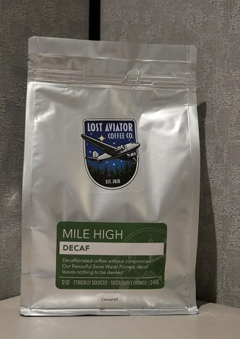 Lost Aviator Mile High Decaf Coffee