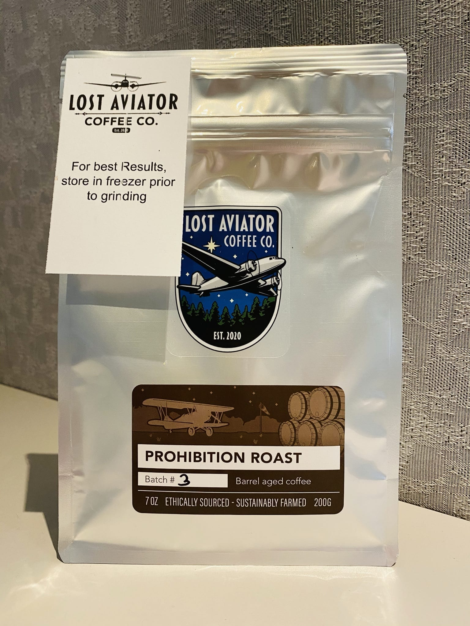 Lost Aviator Coffee Prohibition Roast